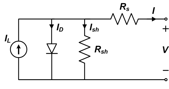 Diode Equivalent Circuit Models on basic single light diagram